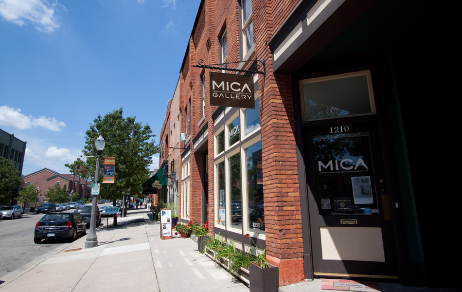 MICA Gallery - Exterior Shot