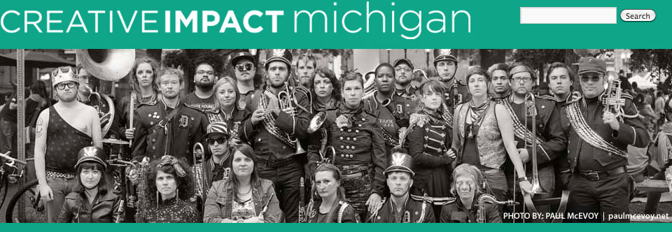 Featured in Creative Impact Michigan